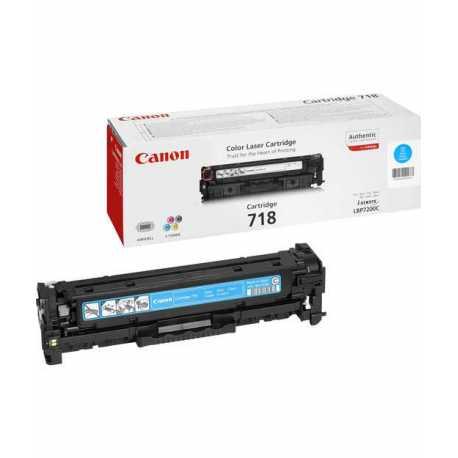 CANON CRG-718C Mavi Orijinal Lazer Toner CRG 718 C - 2661B002