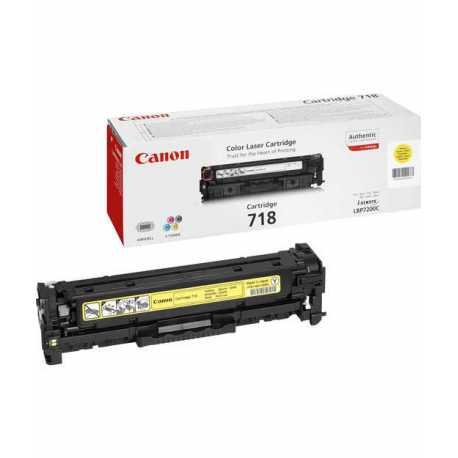 CANON CRG-718Y Sarı Orijinal Lazer Toner CRG 718 Y - 2659B002