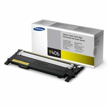Samsung CLT-Y406S Sarı Orijinal Laser Toner Kartuşu (CLT-Y 406S/ELS)