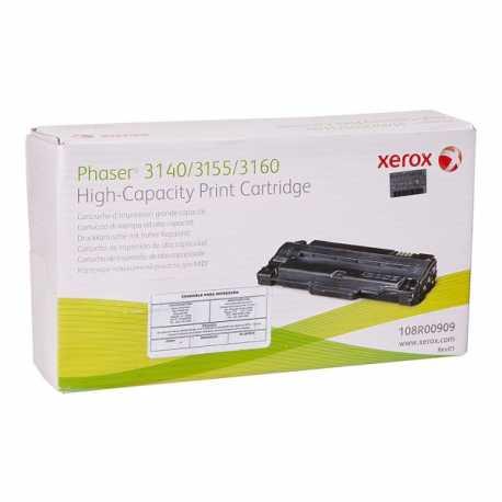 Xerox 108R00909 Yüksek Kapasiteli Siyah Orijinal Laser Toner Kartuşu Phaser 3140/3155/3160