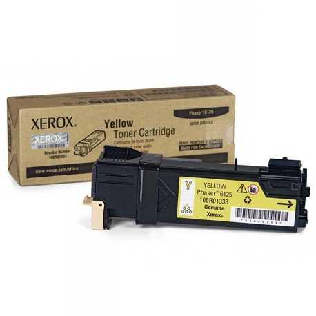 Xerox 106R01337 Sarı Orijinal Laser Toner Kartuşu Phaser 6125N