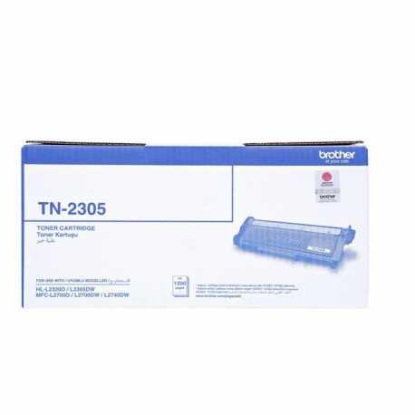 Brother TN2305 Siyah Orijinal Laser Toner Kartuşu TN2305