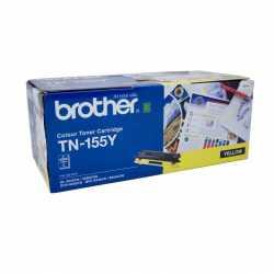 Brother TN-155Y Sarı Orijinal Laser Toner Kartuşu TN155Y
