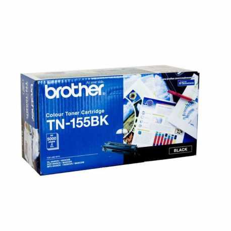 Brother TN-155BK Siyah Orijinal Laser Toner Kartuşu TN155