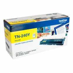 Brother TN-240Y Sarı Orijinal Laser Toner Kartuşu TN240Y