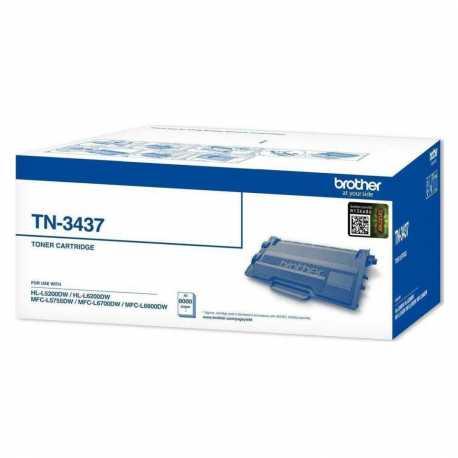 Brother TN-3437 Siyah Orijinal Laser Toner Kartuşu TN3437