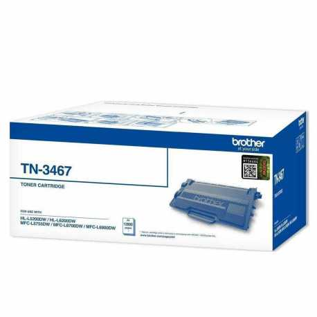 Brother TN-3467 SiyahOrijinal Laser Toner Kartuşu TN3467