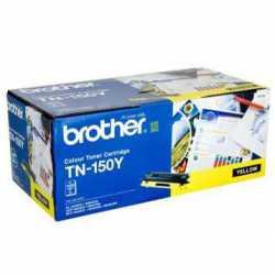 Brother TN-150Y Sarı Orijinal Laser Toner Kartuşu TN150