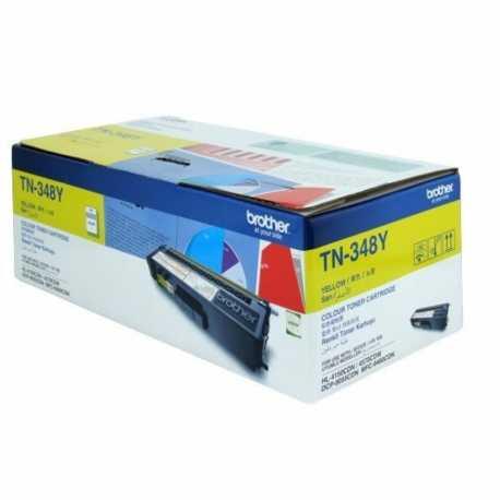 Brother TN-348Y Sarı Orijinal Laser Toner Kartuşu TN348Y