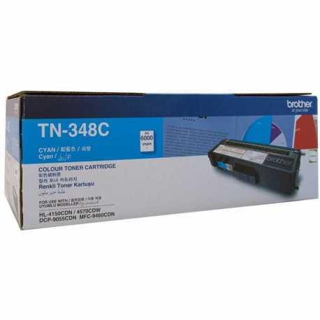 Brother TN-348C Mavi Orijinal Laser Toner Kartuşu TN348C