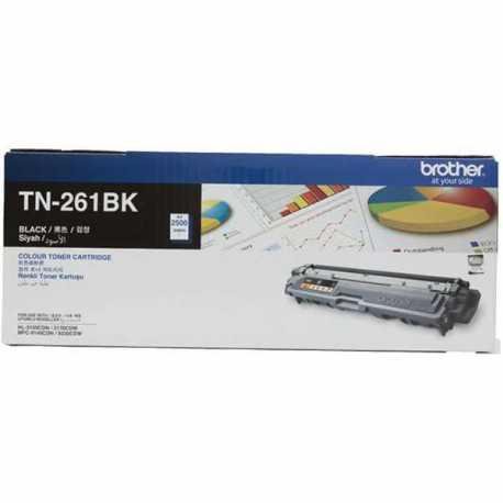 Brother TN-261BK Siyah Orijinal Laser Toner Kartuşu TN261BK
