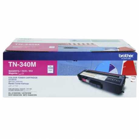Brother TN-340M Kırmızı Orijinal Laser Toner Kartuşu TN340M