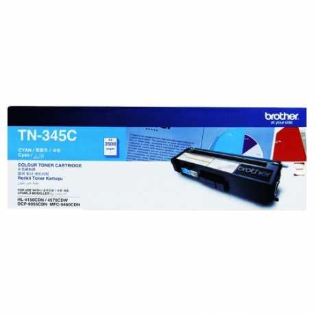 Brother TN-345C Mavi Orijinal Laser Toner Kartuşu TN345C