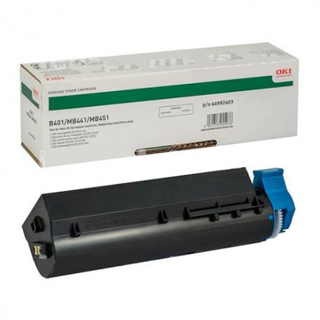Oki 44992403 B401/MB441/451 Siyah Orijinal Laser Toner Kartuşu