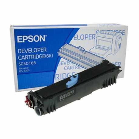 Epson EPL-6200 Siyah Orijinal Laser Toner Kartuşu C13S050166
