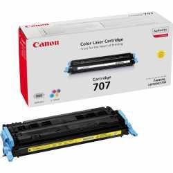 CANON CRG-707 Y Sarı Orijinal Lazer Toner CRG707 Y