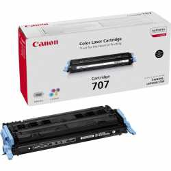 CANON CRG-707 BK Siyah Orijinal Lazer Toner CRG707 BK