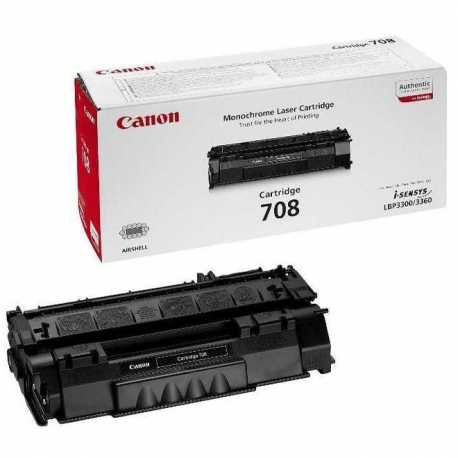 CANON CRG-708 H Yüksek Kapasiteli Siyah Orijinal Lazer Toner CRG708 H