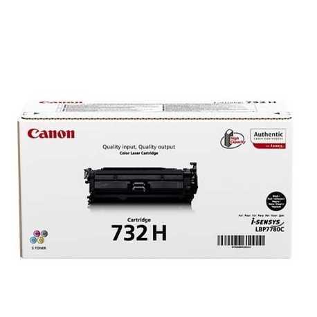 CANON CRG-732 BK H Yüksek Kapasiteli Siyah Orijinal Lazer Toner CRG732BK H