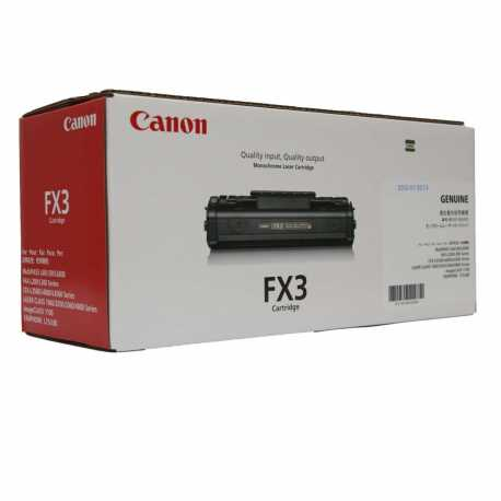 CANON FX-3 BK Siyah Orijinal Lazer Toner FX3BK