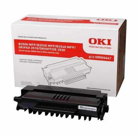 Oki 09004447 B2500 BK Siyah Orijinal Laser Toner Kartuşu