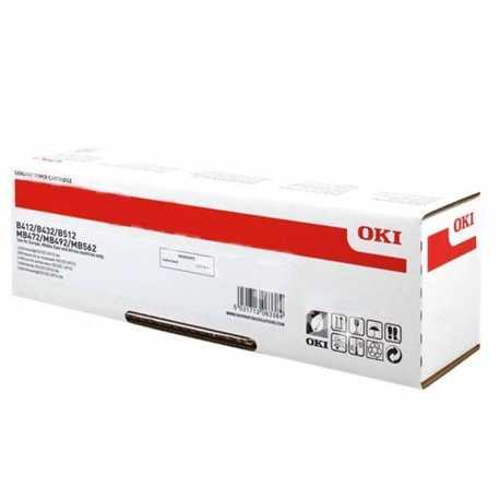 Oki 45807120 B412 BK Yüksek Kapasiteli Siyah Orijinal Laser Toner Kartuşu