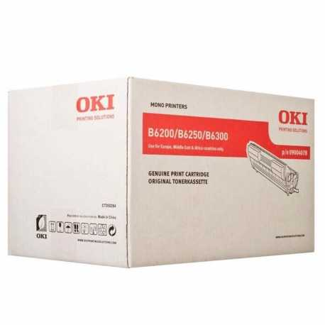 Oki 09004078 B6200 BK Siyah Orijinal Laser Toner Kartuşu