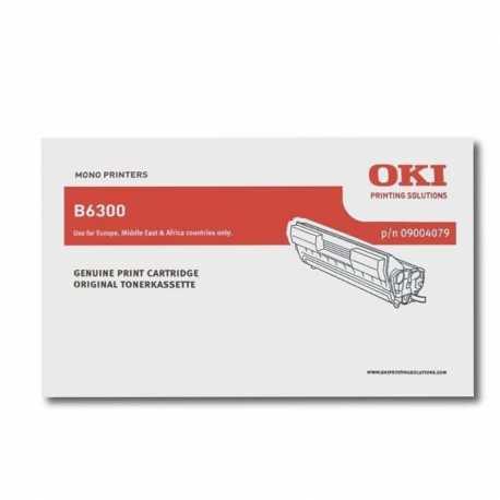 Oki 09004079 B6300 BK Siyah Orijinal Laser Toner Kartuşu
