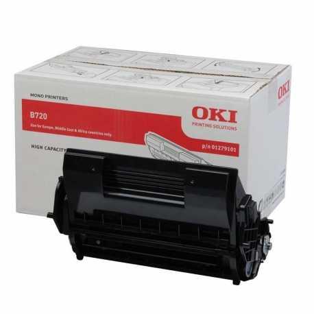 Oki 01279101 B720 BK Siyah Orijinal Laser Toner Kartuşu
