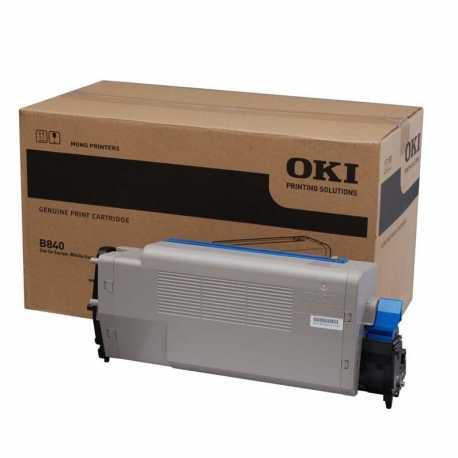 Oki 44661802 B840 BK Siyah Orijinal Laser Toner Kartuşu