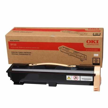 Oki 01221601 B930 BK Siyah Orijinal Laser Toner Kartuşu