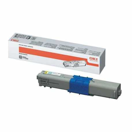 Oki 44973541 C301 Y Sarı Orijinal Laser Toner Kartuşu