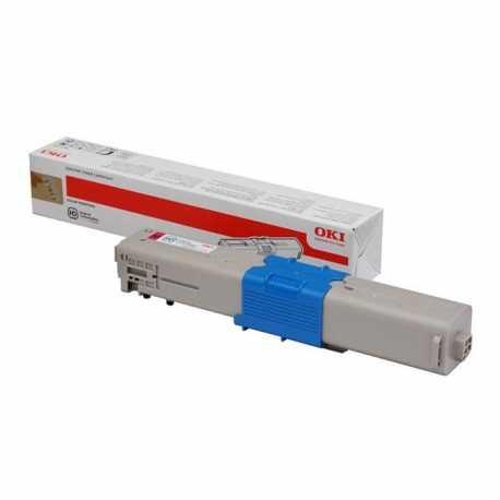 Oki 44973542 C301 M Kırmızı Orijinal Laser Toner Kartuşu