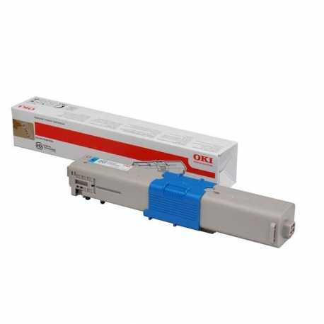 Oki 44973543 C301 C Mavi Orijinal Laser Toner Kartuşu