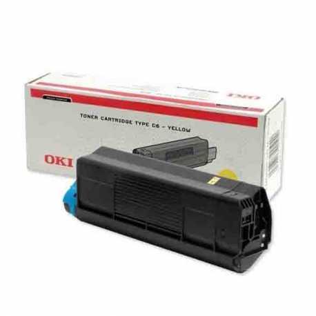 Oki 42804574 C3100 Y Sarı Orijinal Laser Toner Kartuşu