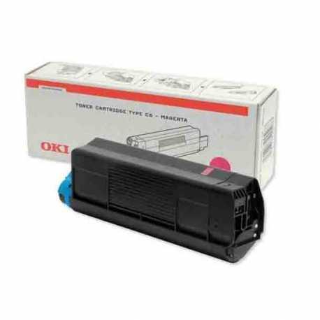 Oki 42804575 C3100 M Kırmızı Orijinal Laser Toner Kartuşu