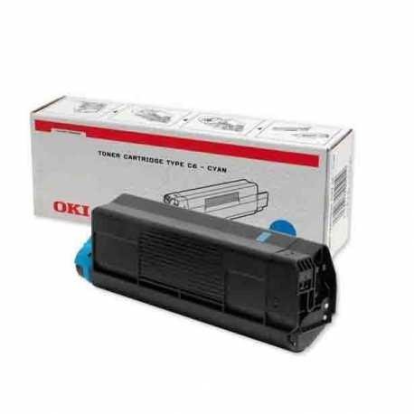 Oki 42804576 C3100 C Mavi Orijinal Laser Toner Kartuşu