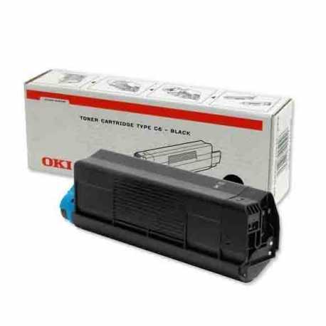 Oki 42804577 C3100 BK Siyah Orijinal Laser Toner Kartuşu