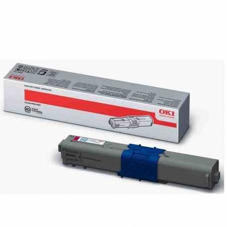 Oki 44469715 C310 M Kırmızı Orijinal Laser Toner Kartuşu