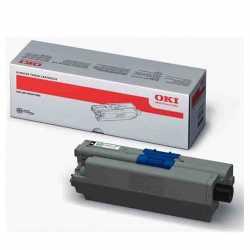 Oki 44469809 C310 BK Siyah Orijinal Laser Toner Kartuşu