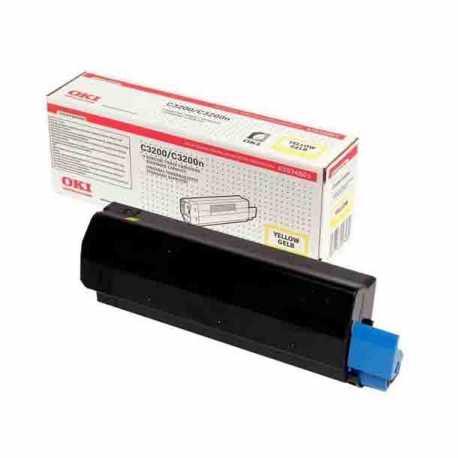 Oki 42804578 C3200 Y Sarı Yüksek Kapasiteli Orijinal Laser Toner Kartuşu