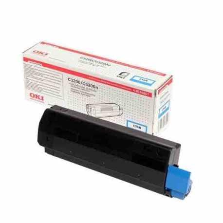 Oki 42804580 C3200 C Mavi Yüksek Kapasiteli Orijinal Laser Toner Kartuşu