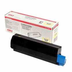 Oki 43034813 C3200 Y Sarı Orijinal Laser Toner Kartuşu
