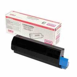 Oki 43034814 C3200 M Kırmızı Orijinal Laser Toner Kartuşu