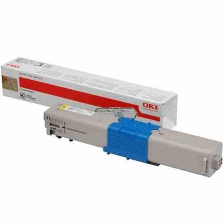 Oki 46508733 C332 Y Sarı Yüksek Kapasiteli Orijinal Laser Toner Kartuşu