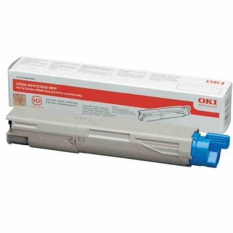 Oki 43459375 C3520 C Mavi Orijinal Laser Toner Kartuşu