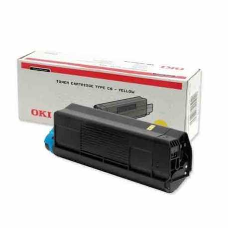 Oki 42804566 C5200 Y Sarı Orijinal Laser Toner Kartuşu