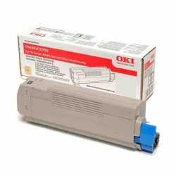 Oki 42127492 C5250 Y Sarı Yüksek Kapasiteli Orijinal Laser Toner Kartuşu