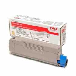 Oki 42127494 C5250 C Mavi Yüksek Kapasiteli Orijinal Laser Toner Kartuşu