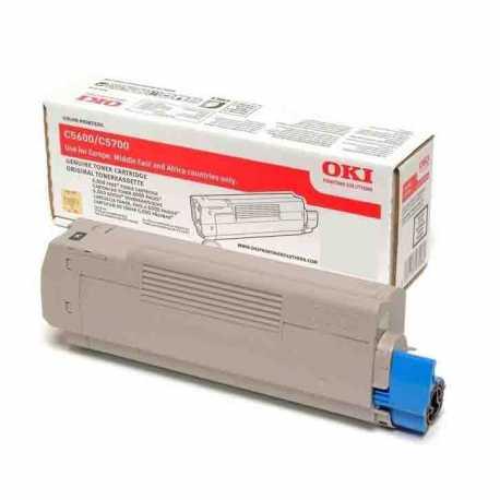 Oki 42127495 C5250 BK Siyah Yüksek Kapasiteli Orijinal Laser Toner Kartuşu